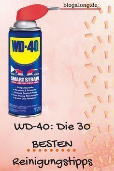 WD-40: Die 30 besten Reinigungstipps, die du kennen musst #wd-40 #reinigung #haushalt