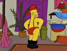 Homer trying to be sexy is a either hit or miss. Simpsons Cartoon, Cartoon Icons, Cartoon Memes, Funny Cartoons, Funny Memes, Cartoon Profile Pictures, Vintage Cartoon, Meme Faces, Cartoon Wallpaper