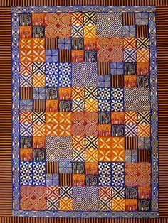 Kudhinda Cloth wall hanging.