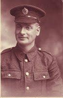 My G-Grandfather Ernest Richardson 1887-1966 during WW1