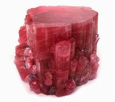 Tutto cominciò...: Pietre e cristalli Tormalina rosa e verde
