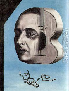 René Magritte - Artist XXè - Surrealism - Portrait de P.-G. Van Hecke