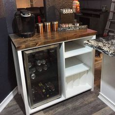 Custom Mini Fridge Storage Cabinet Made By Theawesomeorange Diy Customfurniture