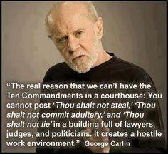 Crystal clear George Carlin