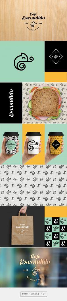 Café Escondido Branding by Daniela Arcila