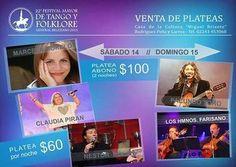 Gral. Belgrano: 22° Festival Mayor de Tango y Folklore