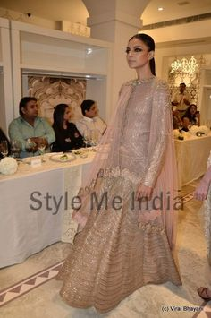 Anamika Khanna at Delhi Couture Week 2012