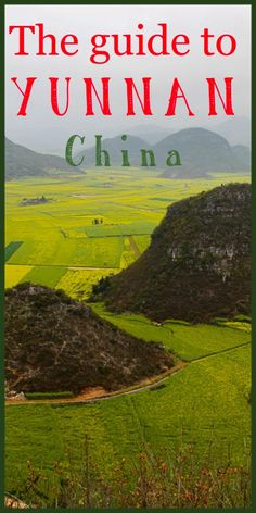 Itinerary to Yunnan top destinations - How to travel, what to see, where to go and the tops spots for your photography in Yunnan, an unbelievable area of China http://mel365.com/itinerary-yunnan-top-destinations/