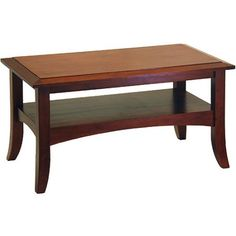 Free Shipping. Buy Craftsman Coffee Table, Antique Walnut at Walmart.com
