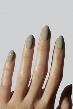 Treat yourself with this plant-based remedy. A light, creamy khaki green. Inspired by centuries-old herbal remedies, this colour pays homage to the rising popularity of natural medicine. Iconic to Gelcare. Gelcare nail polish is made in Canada and free of 10 of the most harmful chemicals used in the polish industry. Gel Polish Colors, Uv Gel Nail Polish, Uv Gel Nails, Manicure, Beauty Games, Hair Skin Nails, Green Nails, Free Makeup, Perfect Nails
