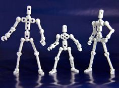 When designing an action figure to be 3D printed the best way to create articulated components that are pose-able is with snap-fit ball joints. Civil War Ironclad USS Monitor Robot Action Figure by DSnow Ball joints work as snap-fit components and cannot be 3D printed together as the friction...