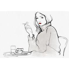 Things Parisians Do Garance Doré found on Polyvore