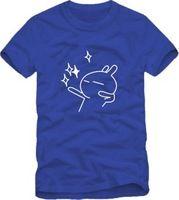 2014 Summer New Men's Tuzki T-shirts Short Sleeve Hiphop Skateboard Woman Twinkle Tuzki T shirts