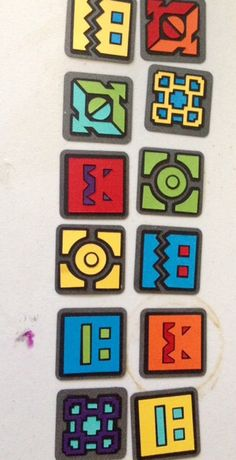 12 Geometry Dash Cupcake Toppers by Zenfetti on Etsy https://www.etsy.com/listing/256481351/12-geometry-dash-cupcake-toppers