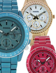 I kindaaa love Fossil Watches