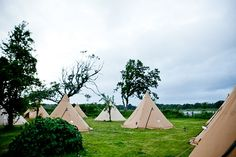 """Cool camping tents for your """"wedstival"""" www.stunningtents.co.uk"""