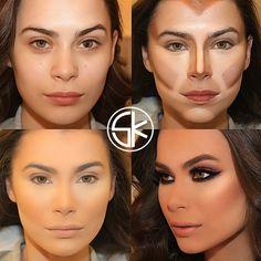 Aquela Zona!: As maquiagens incríveis de Samer Khouzami