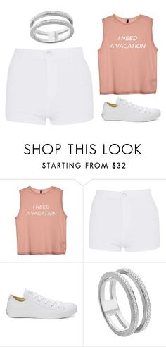 """Untitled #55"" by iamalyceparis on Polyvore featuring Topshop, Converse and Monica Vinader"