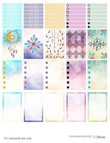 Dreamcatcher Happy Planner Printable