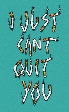 Can't quit. #art #illustration #typography