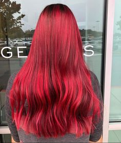 It's #transformationtuesday 🔥 • • Hot take: Red is never not in 🤩 Whether you want to add a subtle hint of red or fully commit to red all over you can't go wrong! Hair x @_hairbyblake from Genesis Loganville #124FAM Transformation Tuesday, Mermaid Hair, New Trends, Long Hair Styles, Hot, Beauty, New Fashion, Long Hairstyle, Long Haircuts