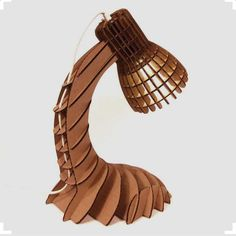 Discover the potential of an ordinary material like cardboard. We have  collected 20 amazing and unique cardboard lamp ideas with stunning designs  and visual