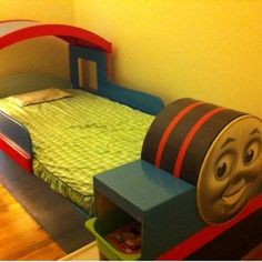 Thomas Train Bed