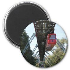 Wuppertal Floating Train / Wuppertaler Schwebebahn Magnet #sold on #Zazzle :-)