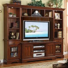 Top of entertainment center decorating ideas interior best home entertainment center ideas within entertainment centers decorating . Tv Unit Furniture, System Furniture, Furniture Design, Home Entertainment Centers, Entertainment System, Riverside Furniture, Living Room Tv Unit, High Quality Furniture, Finding A House