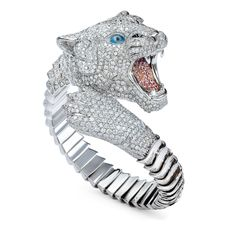 """Roberto Coin - Siberian Tigers  The highest manufacturing art and the unmistakable creativity of Roberto Coin meet once again to give life to """"The Siberian Tigers"""", princes and supreme examples of beauty and force in all Animalier Collections. Sculpture jewels dedicated to the elegance, sensuality and power that every woman has inside.  http://en.robertocoin.com/limited-edition/siberian-tigers"""