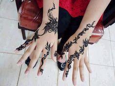 Henna Tatoos, Mehndi Tattoo, Henna Tattoo Designs, Henna Mehndi, Henna Art, Hand Henna, Mehendi, Simple Arabic Mehndi Designs, Henna Designs Easy