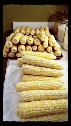 Wish Upon A Chef: Fresh corn for the freezer