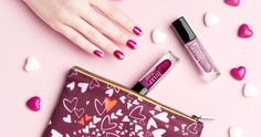 Express Yourself  - Love yourself. Love your friends. Love your love.  It's easy to show how you feel with this mystery box.   Includes two NEW better-than-candy nail colors with a fluttering heart cosmetic bag + more beauty surprises.