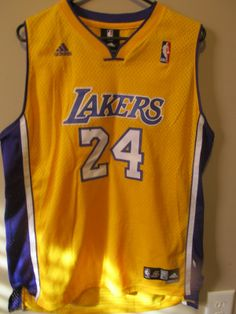 0ac09246e Adidas Authentic Kobe Bryant Los Angeles Lakers jersey