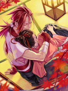 Hakuouki Shinsengumi ♥ #Anime #Otome #Game Sanosuke X Chizuru
