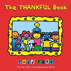 The Thankful Book by Todd Parr and placemat activity from Growing Book by Book
