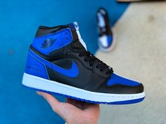 1b531f43a954 Air Jordan 1 Retro High OG Board of Governors White Black Royal Blue Jordan  1