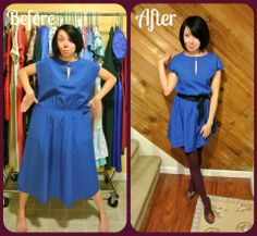 Refashionista - This woman does some amazing things with some truly awful thrift store finds!