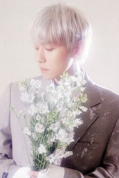 Baekhyun : EXO-CBX THE 2nd MINI ALBUM SCANS (Blooming ver.)