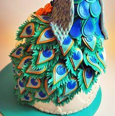 Judy's Cakes: Mr. Peacock!