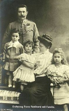 The assassination of Archduke Franz Ferdinand von Habsburg of Austria and his wife ignited WWI. World War One, First World, Austria, Impératrice Sissi, Empress Sissi, Archduke, Modern Photographers, Royal King, Wife And Kids