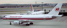 https://flic.kr/p/dyVWLF | Kenya Airways A310 | Kenya Airways A310-300 5Y-BEL at Heathrow
