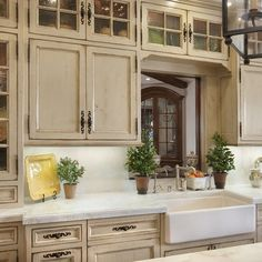 Adorable antique kitchen cabinets: French Country Look Unique Glass Kitchen Cabinet With Seeded Glass Cabinet Doors Antique Kitchen Cabinets, Country Kitchen Cabinets, Refacing Kitchen Cabinets, Kitchen Decor, Glass Kitchen, Kitchen Ideas, Cabinet Refacing, Nice Kitchen, Kitchen Black