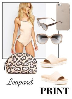 """Leopard "" by chchic-iacovou on Polyvore featuring Qupid, SKYE & staghorn, Jimmy Choo and Givenchy"