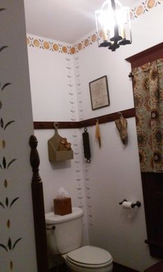 Primitive Country Bathrooms, Country Primitive, Remodeling Mobile Homes, Home Remodeling, Mobile Home Bathrooms, Bathroom Makeovers, Bathroom Ideas, Wall Lights, Shelves