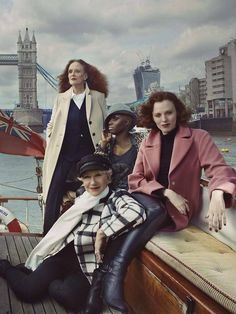 'Meet Britain's Leading Ladies' shot by Annie Leibovitz for Marks & Spencer