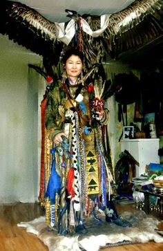 Female Shaman - Mongolia