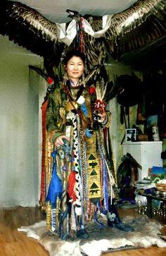 Mongolische Schamanen