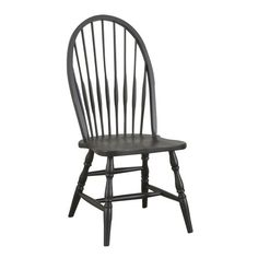 Carolina Classic Cottage  Windsor Chair - http://www.furniturendecor.com/carolina-classic-cottage-windsor-chair-antique-black/ - Categories:Dining Chairs, Dining Room Furniture, Furniture, Home and Kitchen