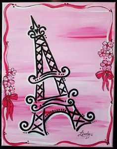 Check out this item in my Etsy shop https://www.etsy.com/listing/478295864/paris-pink-11x14-acrylic-canvas-painting